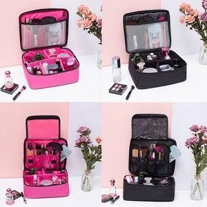 Makeup Bag Cosmetic Case Portable Organizer